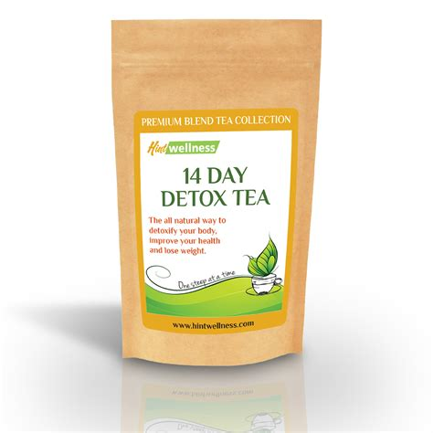Detox Tea For Weight Loss by M S Place Hint Wellness 14 Day Detox Tea Review