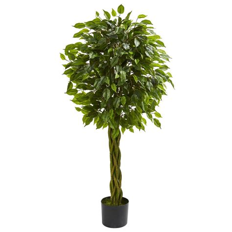 Home Depot Artificial Plants by Nearly 6 5 Ft Wisteria Silk Tree 5349 The Home