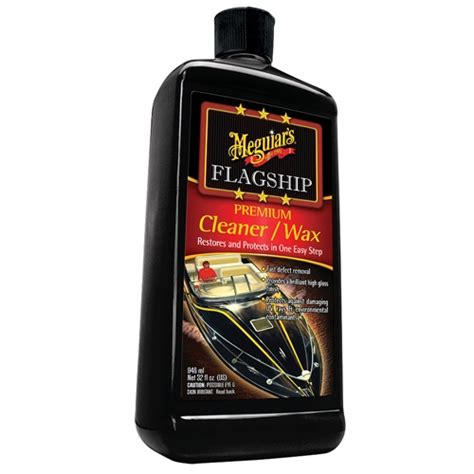 boat cleaner wax review meguiar s boat rv flagship premium cleaner wax m6132 32 oz