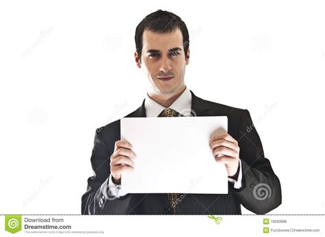 man holding business man hold paper royalty free stock image image