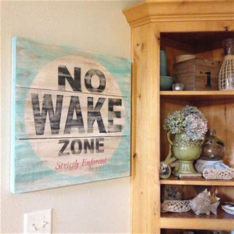zone home decor no wake zone great piece of art for a from kspeddler on etsy