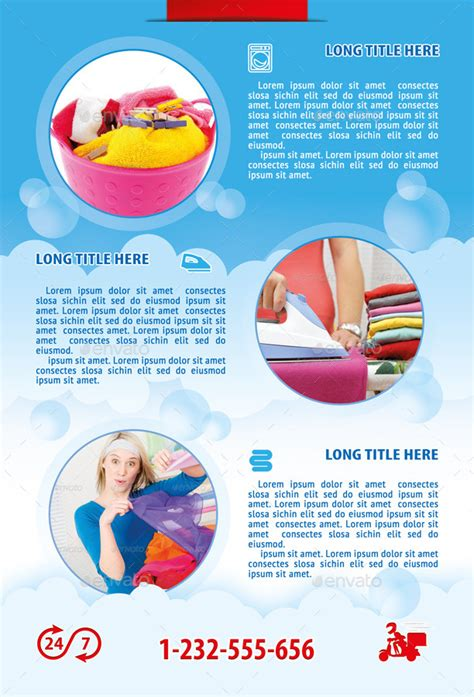 great laundry flyers templates images gt gt laundry flyer