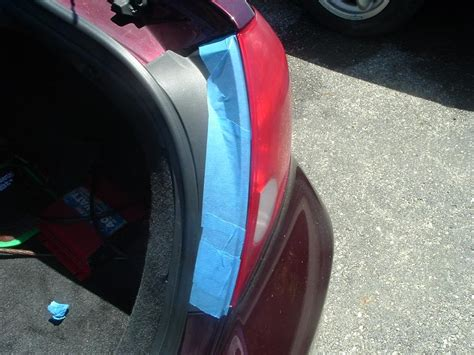how to spray tint your tail lights without removing them