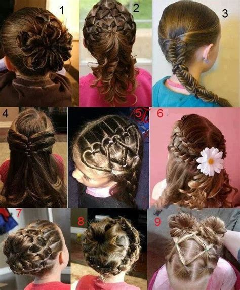 peinados de ninas para flower girls 1000 images about peinados enanas on pinterest hair