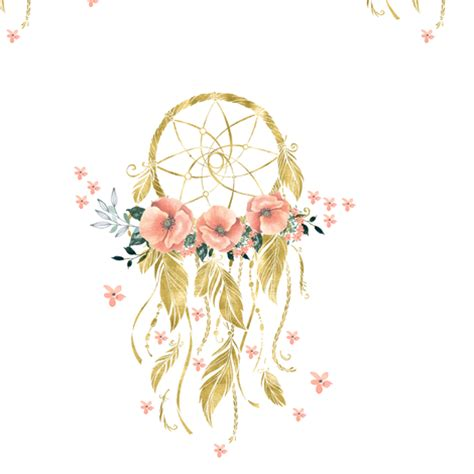sweet dreams baby dream catcher gold 7 quot wallpaper