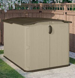 Low Shed by Low Height Shed Suncast Glidetop Shed Quality Plastic Sheds