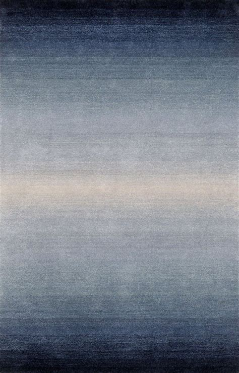 Surya Contemporary Rugs by Ombre Horizon Denim Wool Rugs From Transocean