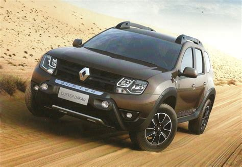 renault dakar renault duster dakar edition to launch in brazil this month