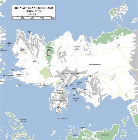 essos map the wertzone yet more song of and maps