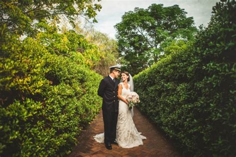 Charlotte Military Wedding At Daniel Stowe Botanical Daniel Stowe Botanical Garden Weddings