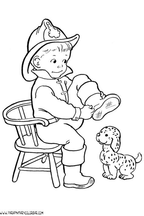 imagenes de cumpleaños para bomberos dibujos de bomberos para colorear para imprimir y pintar