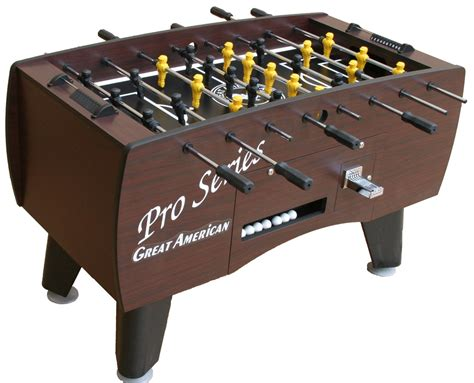 pro series coin operated foosball table gametablesonline
