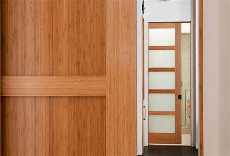 bamboo interior door bamboo doors modern interior doors san luis obispo