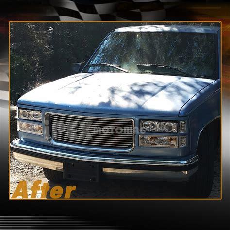 1998 chevy silverado lights 1994 1998 chevy silverado tahoe dual halo projector led