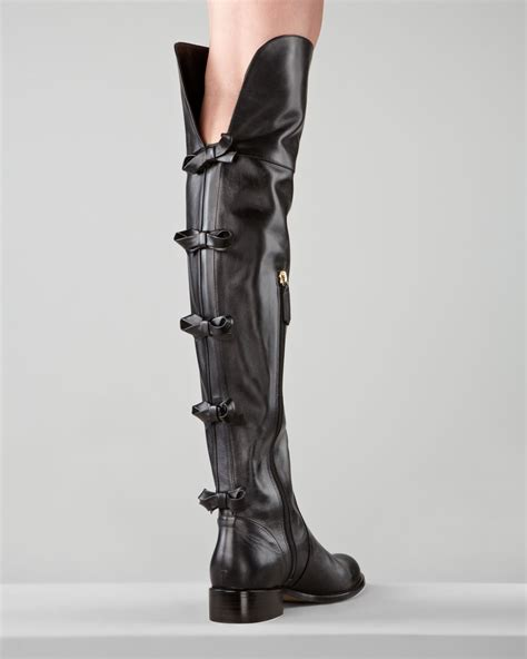 valentino flat the knee boot xeuee