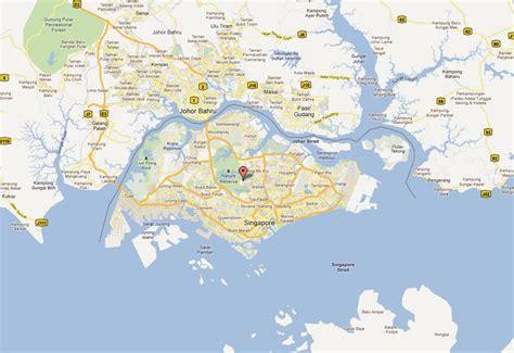 satellite map of singapore singapore map and singapore satellite images