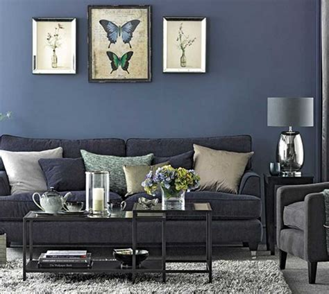blue grey room ideas blue and grey living room ideas with glass top coffee