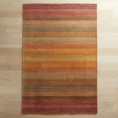 graduated striped russet rug pier 1 imports