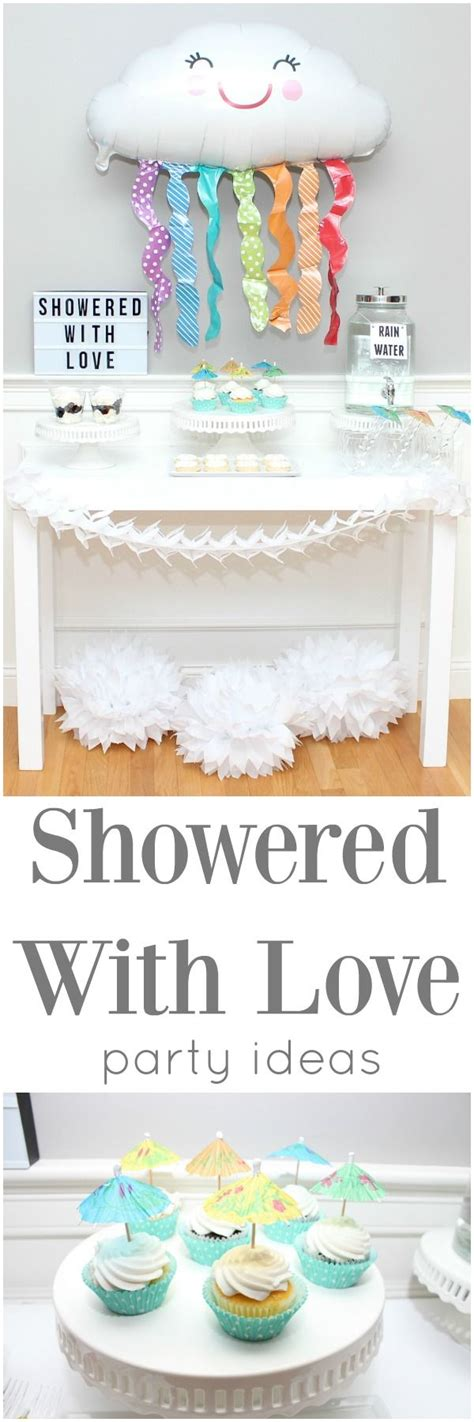 Showered With Baby Shower Theme by 25 Best Ideas About Baby Showers On