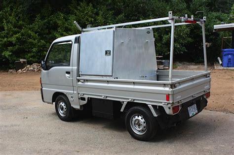 subaru mini truck 1991 subaru sambar mini truck 4x4 outside