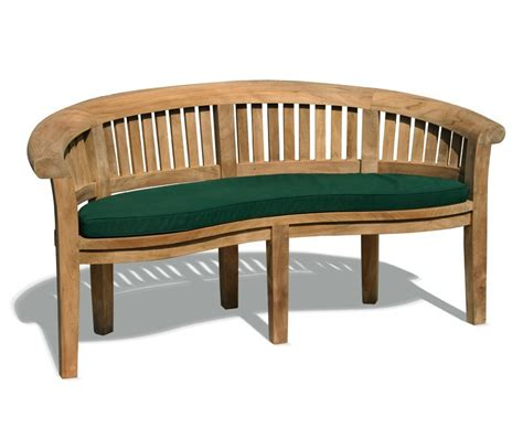 banana benches super deluxe teak banana bench peanut bench