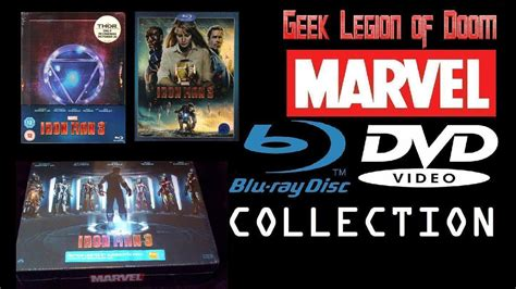 iron man marvel blu ray fnac limited edition exclusive