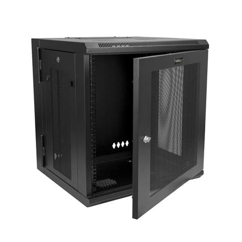 wall mount server cabinet 12u wall mount server rack cabinet hinged startech com