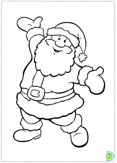 santa claus pictures to color free santa claus coloring pages