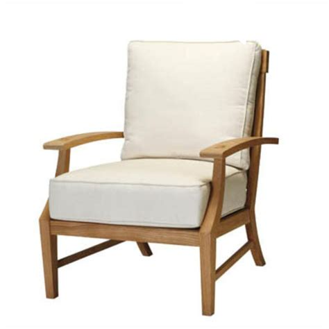 Summer Chairs by Summer Classics 2837 Croquet Teak Lounge Chair Discount Furniture At Hickory Park Furniture