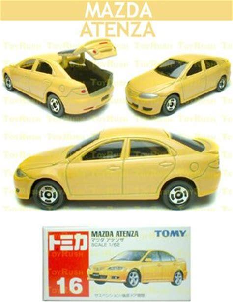 Tomica Reguler 62 Mazda Atenza tomy tomica diecast 16 mazda atenza