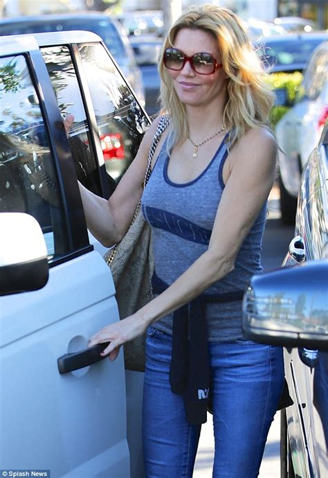 brandi glanville skinny brandi glanville leaving dan tana s nearly falling several