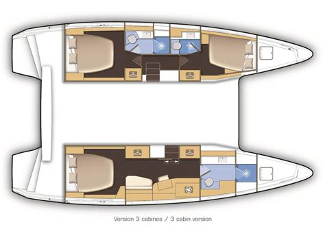 interior design layout sle sound yachting lagoon 42