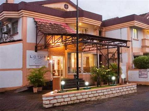 lotus resort goa south goa hotel buchen hotelreservierung