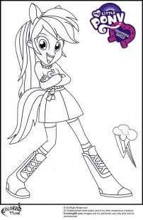 printable coloring pages human my pony coloring pages rainbow dash human http