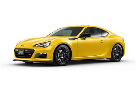 tuned subaru brz subaru brz ts launched in sti tuned limited