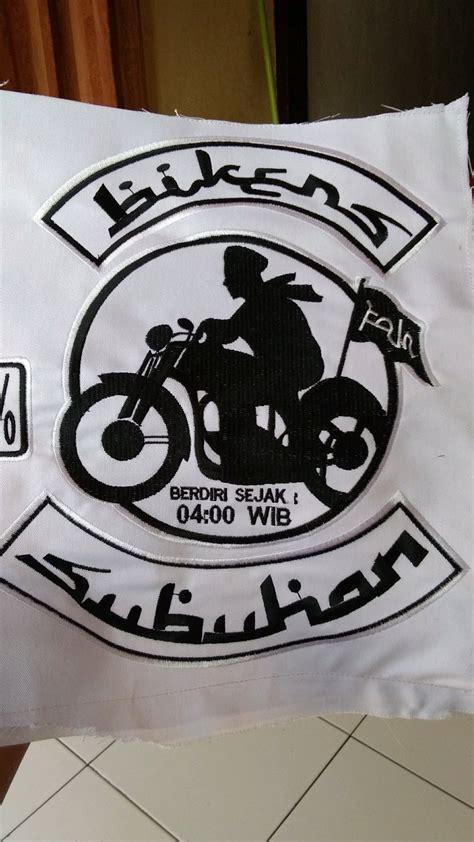 Jual logo bordir bikers subuhan di lapak liQuid Stock