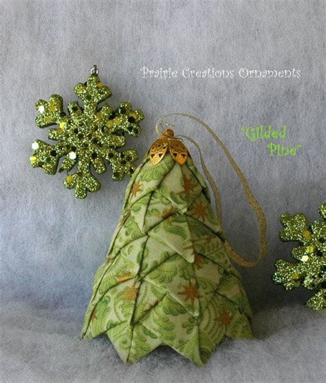 quilted fabric christmas tree pattern and kit gilded pine