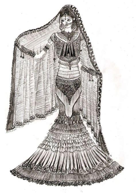 fashion illustration lehenga pencil sketches of dresses pencil drawing