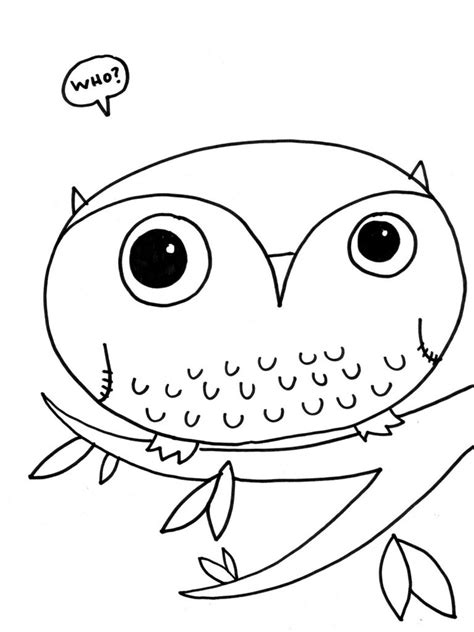 free coloring pages free printable owl coloring pages for