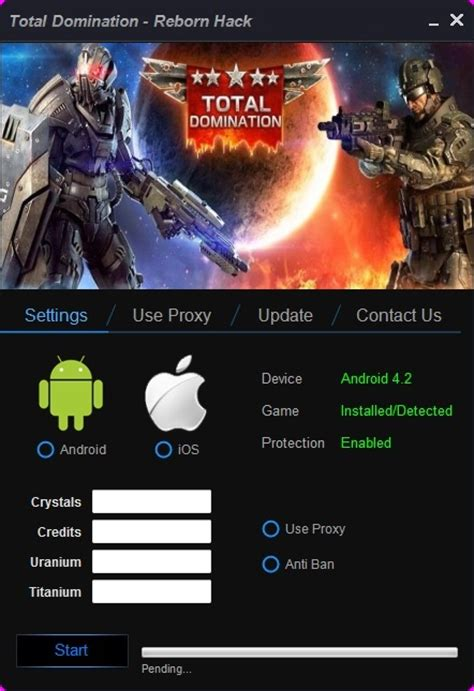 game mod tool for android this is total domination reborn hack online offline
