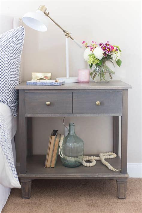 diy bedroom table diy pottery barn inspired sausalito bedside table