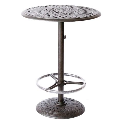 Outdoor Bar Table Darlee 30 Quot Patio Pedestal Bar Table 201060 Bj X