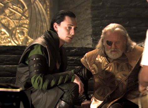 film thor odin loki and odin behind the scenes of thor with tom