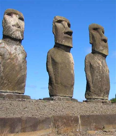 ancient aliens wikipedia these artifacts include the moai of easter island