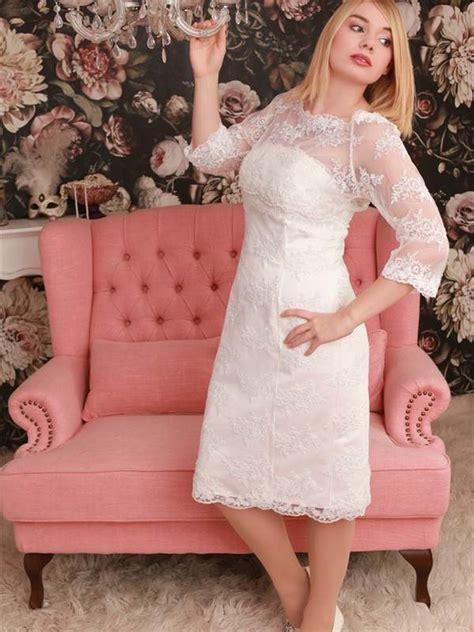 Kurzes Vintage Brautkleid by Brautmode Klarissia Sposa Baden W 252 Rttemberg Standesamt