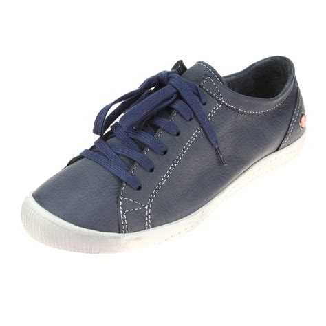 navy shoe softinos isla womens navy shoe