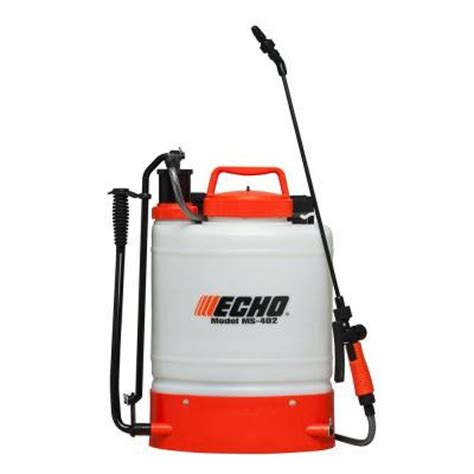echo 4 gal piston back pack sprayer ms402