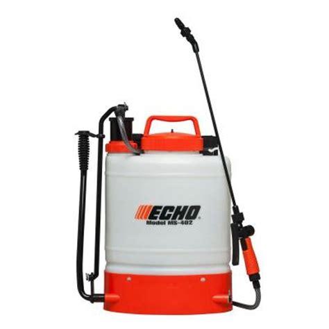 home depot paint sprayer wand echo 4 gal piston back pack sprayer ms402