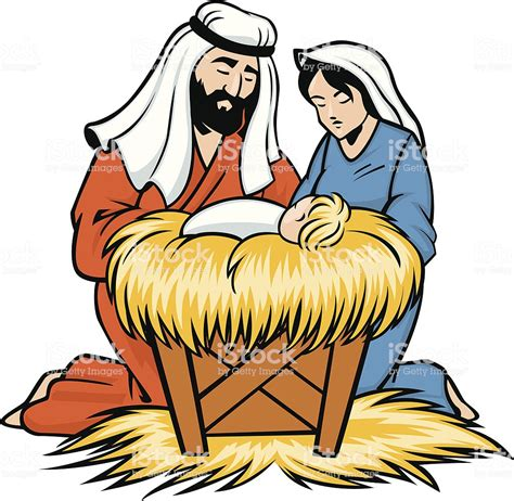 baby jesus clipart joseph and baby jesus stock vector more images