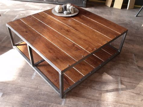 Table Basse De Jardin En Metal